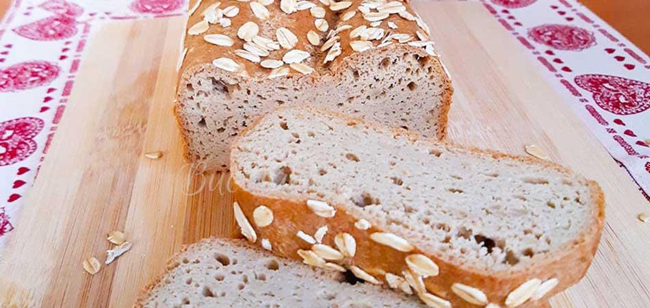 Paine hiperproteica fara gluten